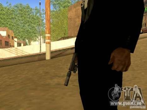 USP45 Tactical für GTA San Andreas dritten Screenshot