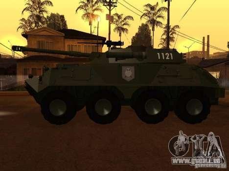 APC-60FSV pour GTA San Andreas laissé vue