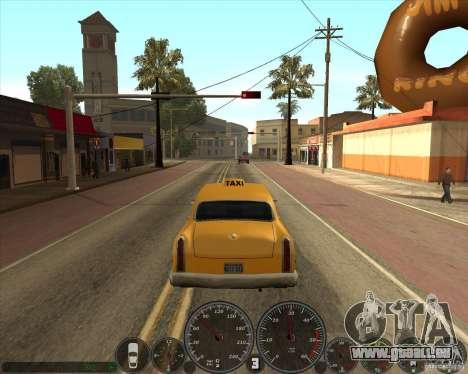 Memphis Speedometer v2.0 pour GTA San Andreas troisième écran