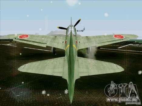 Avions japonais pour GTA San Andreas sur la vue arrière gauche
