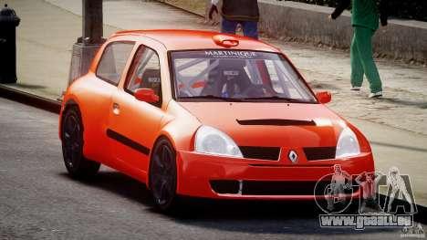 Renault Clio Sport für GTA 4 Rückansicht