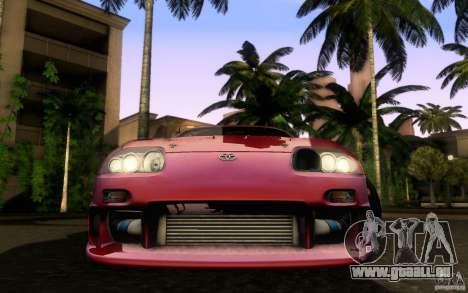Toyota Supra Top Secret für GTA San Andreas rechten Ansicht