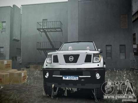 Nissan Pathfinder 2010 pour GTA 4 est un côté