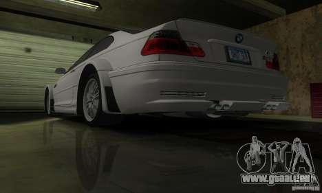 BMW M3 Tuneable pour GTA San Andreas salon