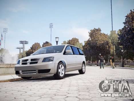 Dodge Grand Caravan SXT 2008 für GTA 4 Innenansicht