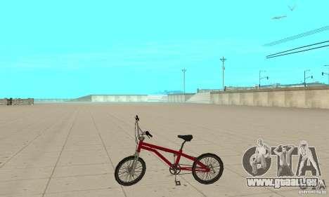 SA BMX für GTA San Andreas linke Ansicht