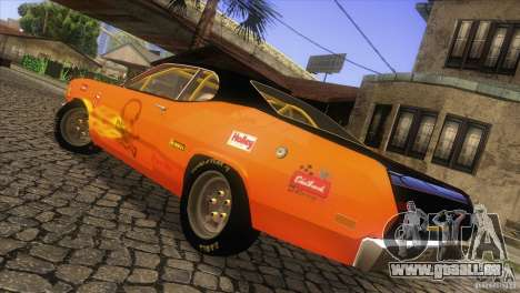 Plymouth Duster 440 für GTA San Andreas Seitenansicht