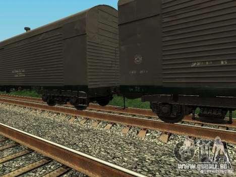 Refrežiratornyj wagon Dessau no 6 pour GTA San Andreas laissé vue