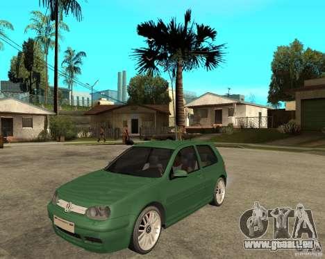 Volkswagen Golf IV GTI für GTA San Andreas