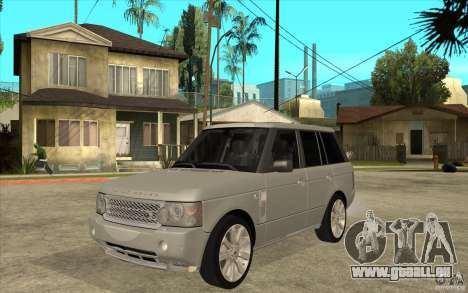 Land Rover Range Rover Supercharged 2009 für GTA San Andreas