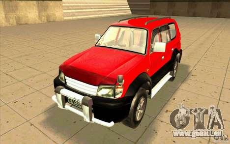 Toyota Land Cruiser Prado für GTA San Andreas linke Ansicht