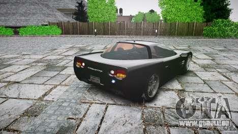 Coquette FBI car für GTA 4 hinten links Ansicht
