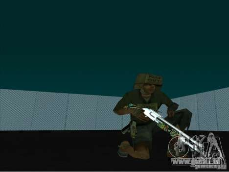 New Weapons Pack für GTA San Andreas zweiten Screenshot
