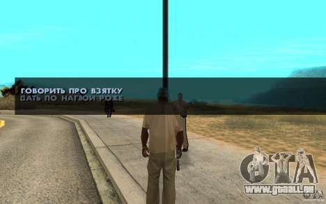 Die Bestechung für GTA San Andreas