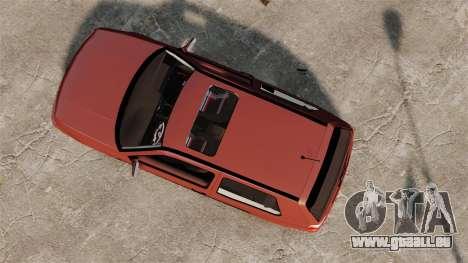 Volkswagen Golf MK3 Turbo pour GTA 4 est un droit