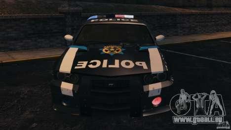 NFSOL State Police Car [ELS] pour GTA 4 est une vue de l'intérieur