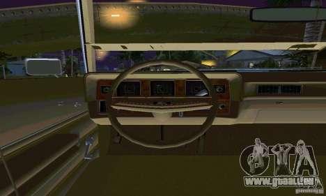 Mercury Monterey 1972 pour GTA San Andreas vue arrière