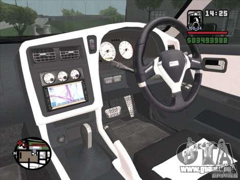 Nissan Stagea für GTA San Andreas Rückansicht