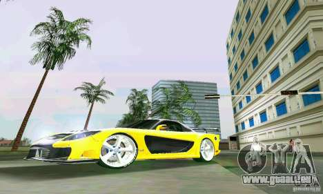 Mazda RX7 VeilSide für GTA Vice City linke Ansicht