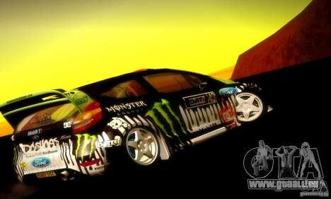 Ford Fiesta Gymkhana 4 pour GTA San Andreas vue de droite