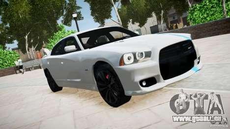 Dodge Charger SRT8 2012 pour GTA 4 est une vue de l'intérieur