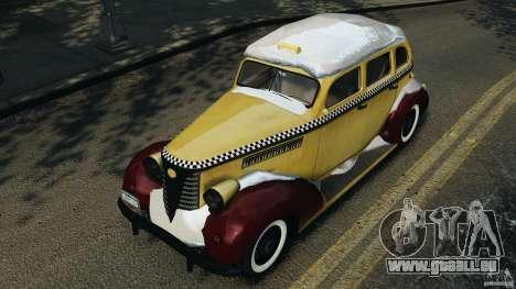 Shubert Taxi für GTA 4 Seitenansicht
