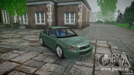 Subaru Impreza v2 für GTA 4 Seitenansicht