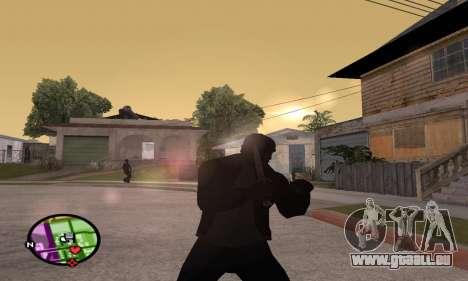 German WWII Knife für GTA San Andreas dritten Screenshot