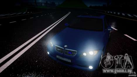 BMW 3-Series Unmarked [ELS] pour GTA 4 vue de dessus