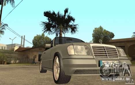 Mercedes-Benz E320 C124 Cabrio pour GTA San Andreas vue arrière