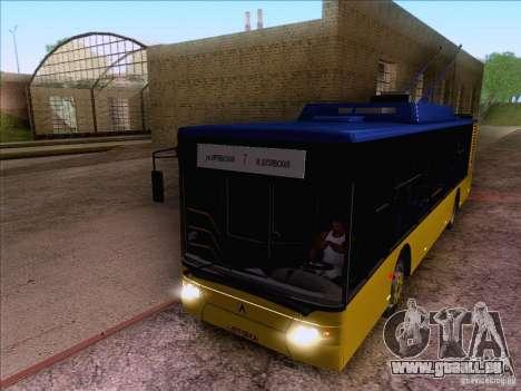ElectroLAZ-12 pour GTA San Andreas vue arrière