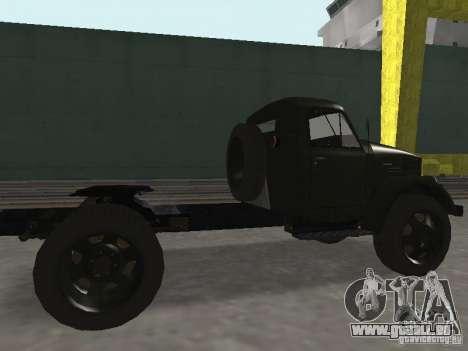 GAZ 51 p für GTA San Andreas zurück linke Ansicht