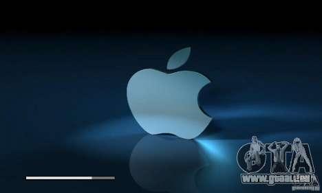 Die Apple-Boot-Bildschirm für GTA San Andreas her Screenshot