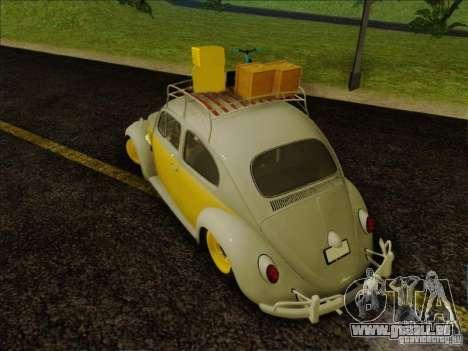 Volkswagen Beetle Edit für GTA San Andreas rechten Ansicht