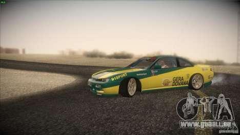 Nissan S14 für GTA San Andreas Innenansicht