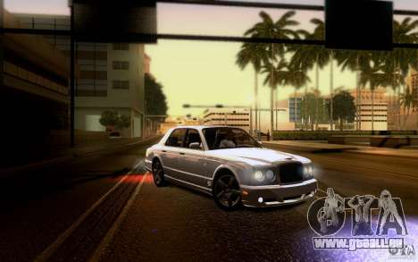 Bentley Arnage für GTA San Andreas Motor