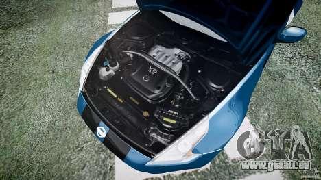 Nissan 370Z Coupe 2010 für GTA 4 Seitenansicht