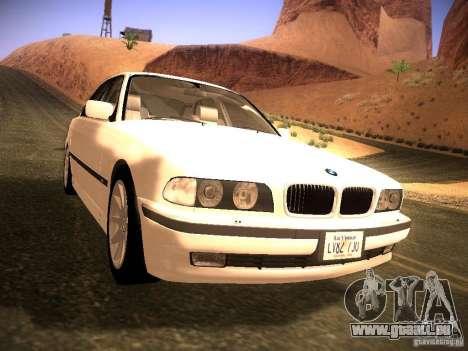 BMW 730i e38 1997 pour GTA San Andreas