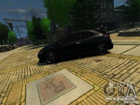 Honda Civic Type R Mugen pour GTA 4 est une gauche