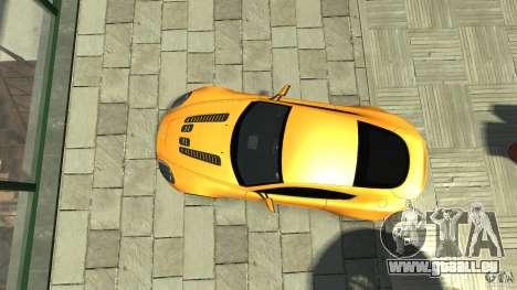 Aston Martin V12 Vantage 2010 pour GTA 4 est un droit