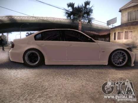 BMW 320SI Drift für GTA San Andreas Innenansicht