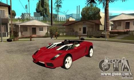 Lamborghini Concept S für GTA San Andreas