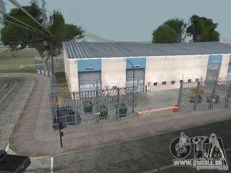 Le premier taxi parc version 1.0 pour GTA San Andreas quatrième écran