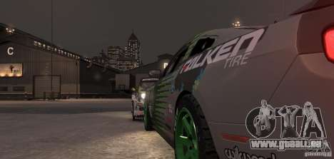 Ford Mustang Monster Energy 2012 für GTA 4 obere Ansicht