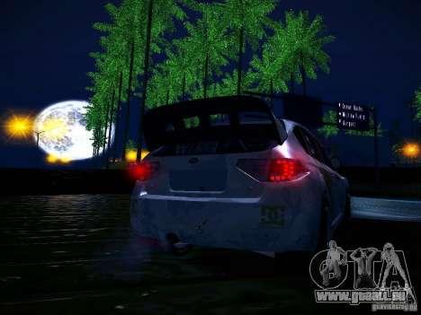 Subaru Impreza WRX STi N14 Rallycross für GTA San Andreas Innen