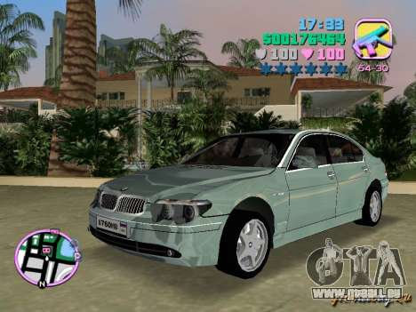 BMW 760 Li für GTA Vice City