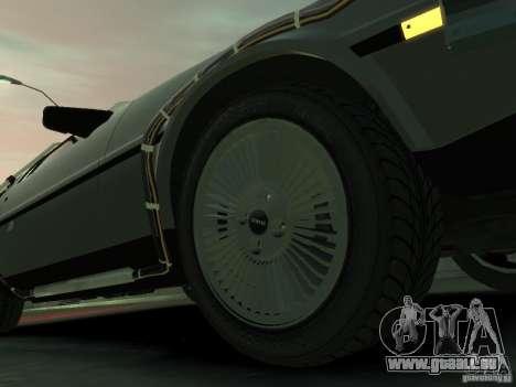 DeLorean BTTF 2 für GTA 4 Seitenansicht
