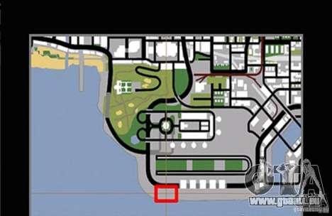 Nouvelle piste pour Drifter pour GTA San Andreas quatrième écran