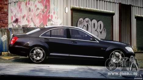 Mercedes-Benz S63 AMG [Final] für GTA 4 Innenansicht