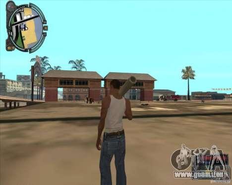 S.T.A.L.K.E.R. Call of Pripyat HUD for SA v1.0 für GTA San Andreas siebten Screenshot
